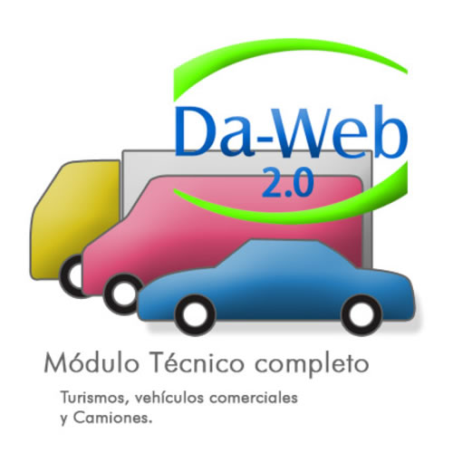 Da-Web 2.0 Módulo técnico completo