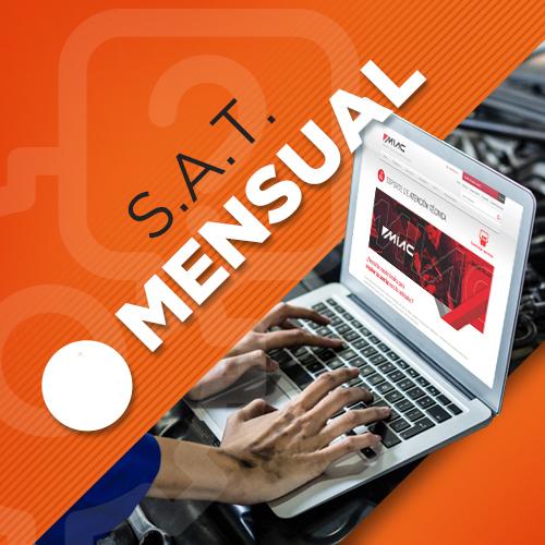 Servicio técnico SAT Mensual