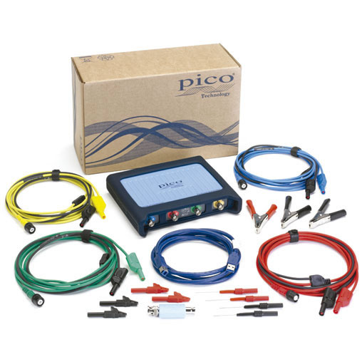 Kit osciloscopio PC para automoci�n B�sico 4 canales