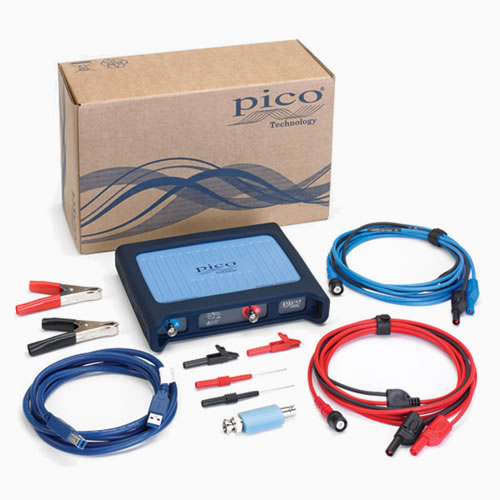 Kit osciloscopio PC de Pico de 2 canales (PP920)