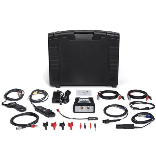 Kit profesional de osciloscopio 1200 2CH para PC. Automoción