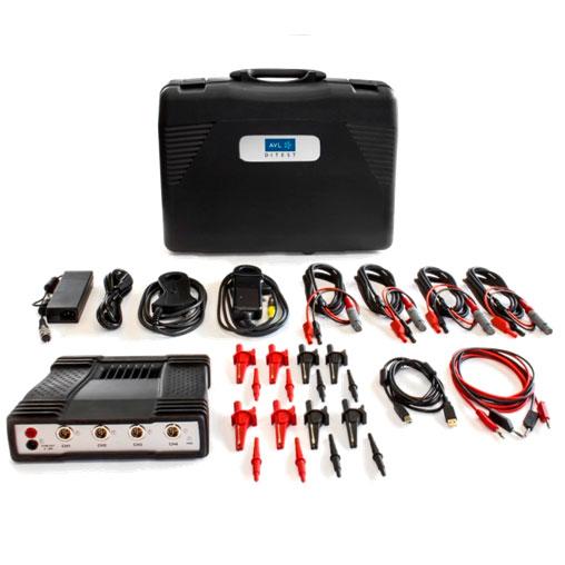 Kit básico de osciloscopio 1400 4CH para PC. Automoción