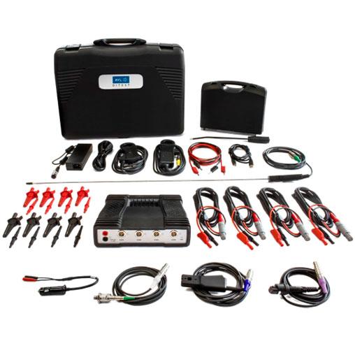 Kit profesional de osciloscopio 1400 4CH para PC. Automoción