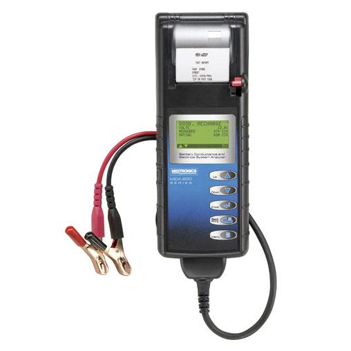 Comprobador de baterías MDX-655P