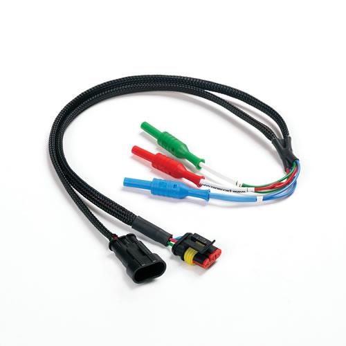 Cable 3 pin para hacer medidas en conectores tipo Kostal (TA191)