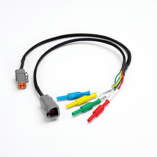 Cable 4 pin para hacer medidas en conectores tipo Deutsch (TA205)