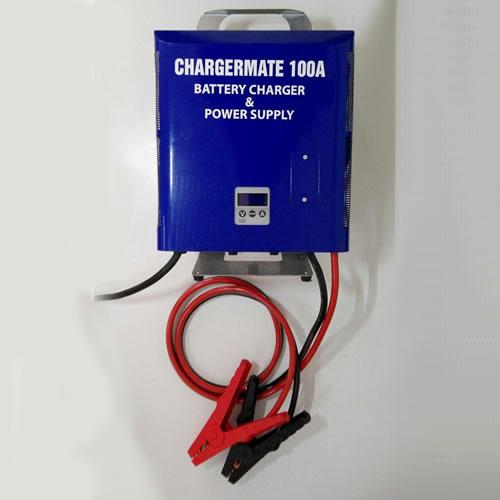 Estabilizador de Corriente - Cargador de Baterias 12-24V/100A  Comprobador