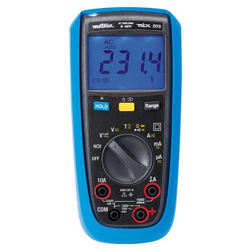 Multímetros digitales TRMS AC (Alta calidad)
