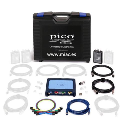 NVH Básico + osciloscopio, ruido, vibraciones (KP249)