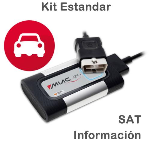 Autocom Kit Estandar CDP Plus + SAT1 + Información de 1 a 3 años