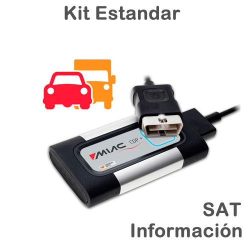 CARS&TRUCKS Kit Estandar + SAT2 + Información