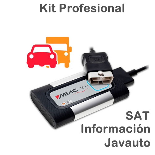 CARS&TRUCKS Kit Profesional + SAT2 + Info + Javauto
