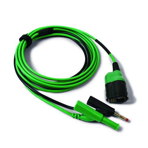 PicoBCN+ VERDE 3m TA406 osciloscopio, toma BNC a 4mm