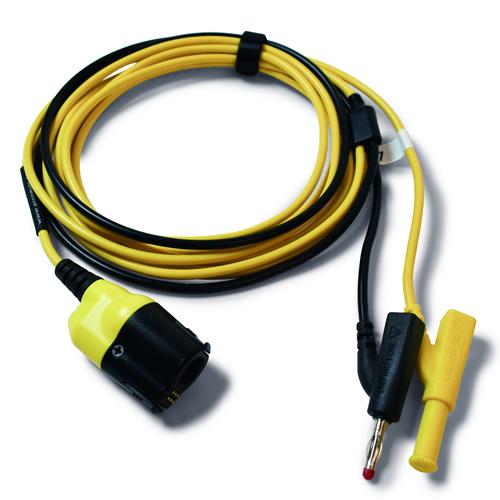 PicoBCN+ AMARILLO 3m TA407 osciloscopio, toma BNC a 4mm